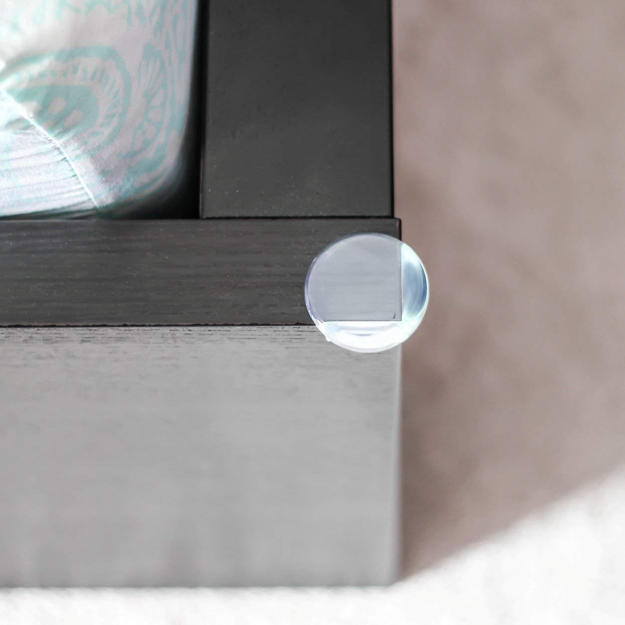 20pcs Eckenschutz Kantenschutz Silikon für Tisch Möbelecken Stoßschutz für Baby